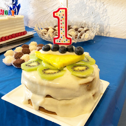 Baby Smash Cake (Naturally Sweetened, Oil-Free)