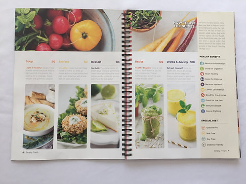 Simply Fresh Cookbook eBook