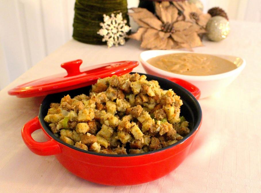 Stuffing & Gravy (Vegan)