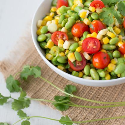 Edamame & Corn Salad