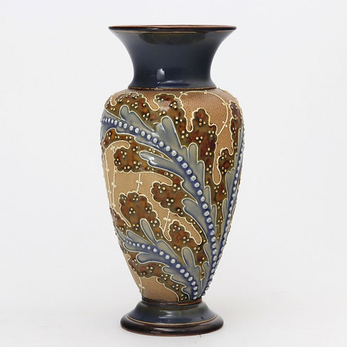 Doulton Lambeth Vase by FC Roberts & R Brown c1890