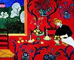 the-dessert-harmony-in-red la desserte rouge Henri Matisse 1908