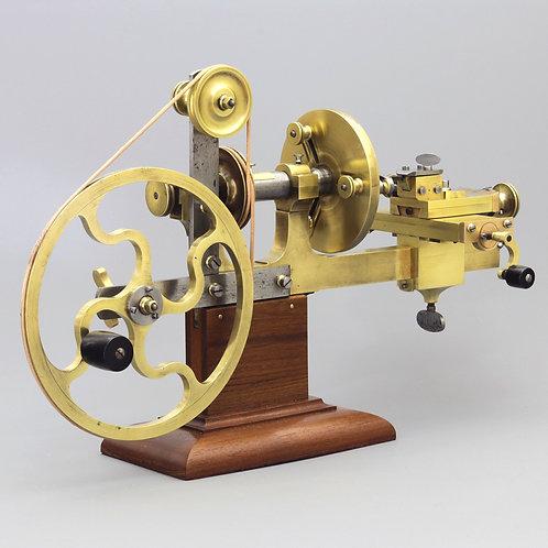 Anglo-Swiss Pattern Brass & Steel Watchmaker's Mandril c1890
