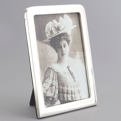 Large Quality Silver Photograph Frame London 1899