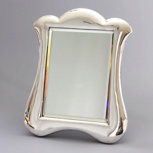 Silver Art Nouveau Dressing Mirror by L Emanuel 1908