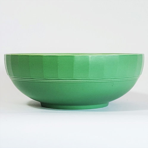 Keith Murray for Wedgwood Bowl in Green c1930