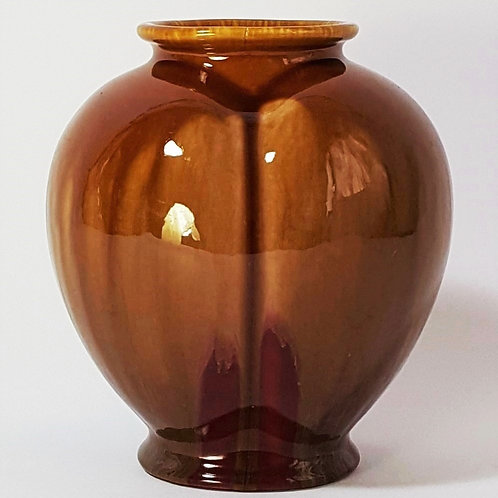 Linthorpe Pottery Art Vase by Henry Tooth c1880
