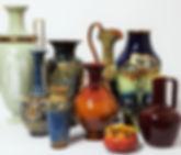Selection of ceramics at Antique Ethos
