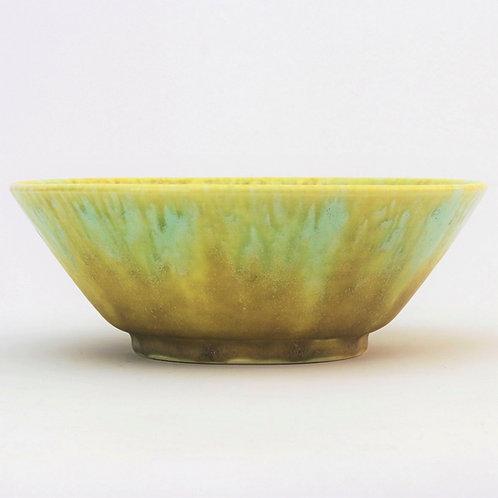 Ruskin Pottery Crystalline Drip-Glazed Bowl 1927