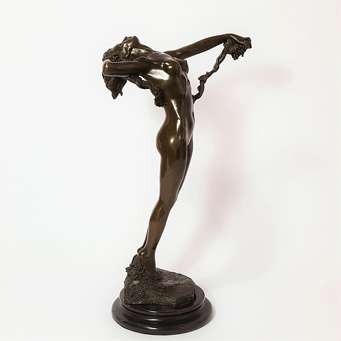 """The Vine"" Bronze after Harriet Frishmuth"