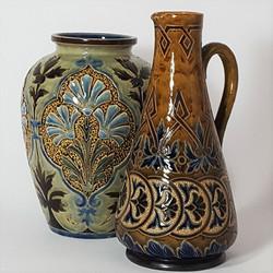 Royal Doulton Vase and Jug