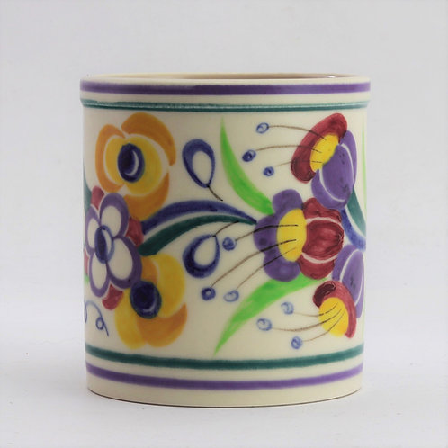 Poole Pottery Traditional Wares Brush Pot c1957