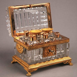 French Glass Necessaire