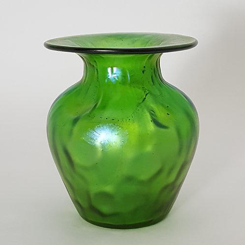 Antique Loetz Vase in Crete Rusticana