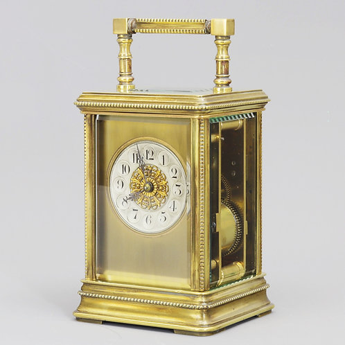 Antique French Striking Carriage Clock