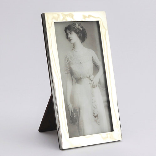 Rectangular Silver Photo Frame by William Neale 1923