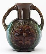 Dresser design for Linthorpe Pottery c1880