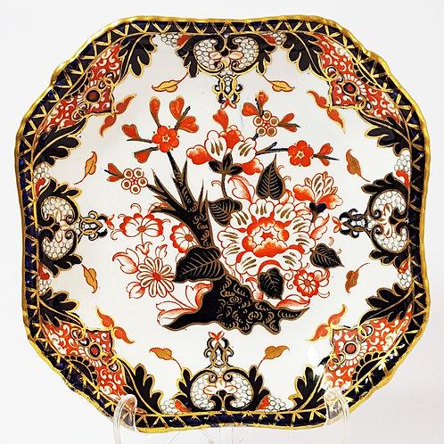 Royal Crown Derby Imari Dish 1885