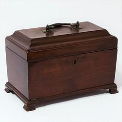 Chippendale Tea Caddy c1770