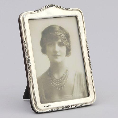 Arched Silver Photo Frame by Myatt & Co Birmingham 1929