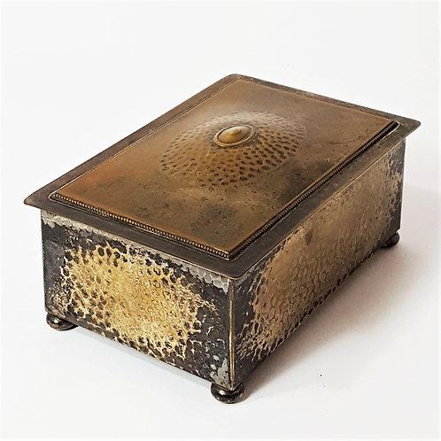 WMF Planished Trinket / Jewellery Box c.1915