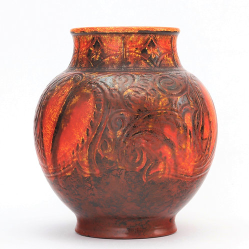 Pilkington's Royal Lancastrian Vase by William S Mycock 1931