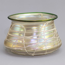 Loetz Iridescent Bowl