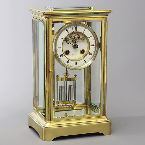 French Brass Mantle Clock with Marti movement