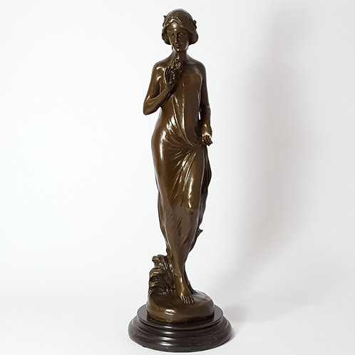 """""""Nymph of the Fields"""" Bronze after Carlo Pittaluga"""