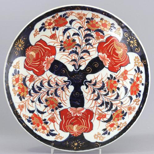Large Japanese Meiji Period Imari / Arita Charger c1880