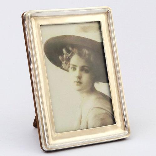 Silver Photograph Frame by A&J Zimmerman Birmingham 1914