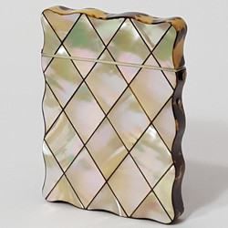 Mother of Pearl Inlaid Card Case