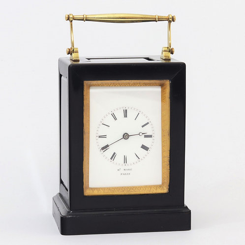 Striking Carriage Clock by Henry Marc, Paris c1850