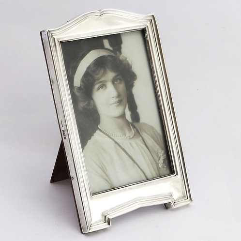 Antique Silver Photo Frame London 1915