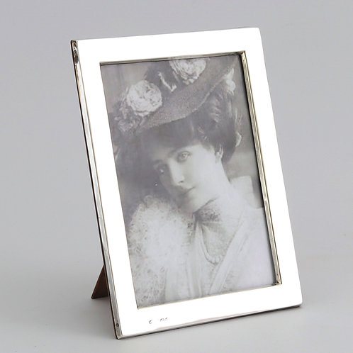 George V Rectangular Silver Photo Frame by William Aitken 1919
