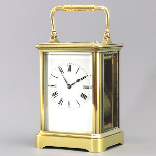 Striking Carriage Clock by Henry Jacot Paris No.17803 c.1895