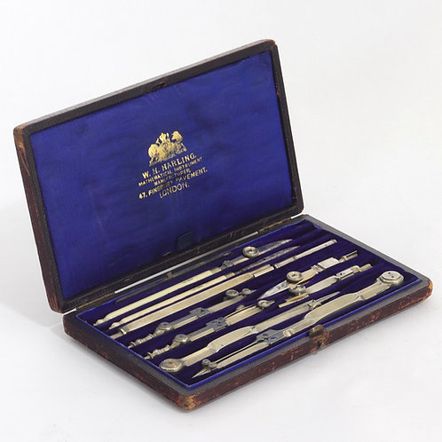Technical Drawing Instruments by W H Harling London c1900