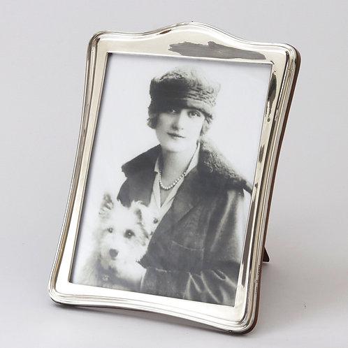 Large Silver Art Nouveau Photograph Frame by Deakin & Sons Chester 1917