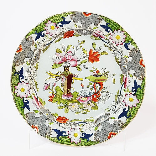 Mason's Ironstone China 'Square Vase' Plate