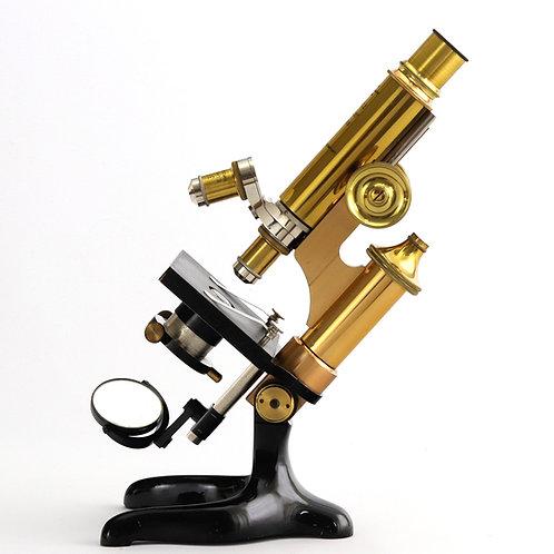 Antique Ernst Leitz Wetzlar Cased Microscope 1906