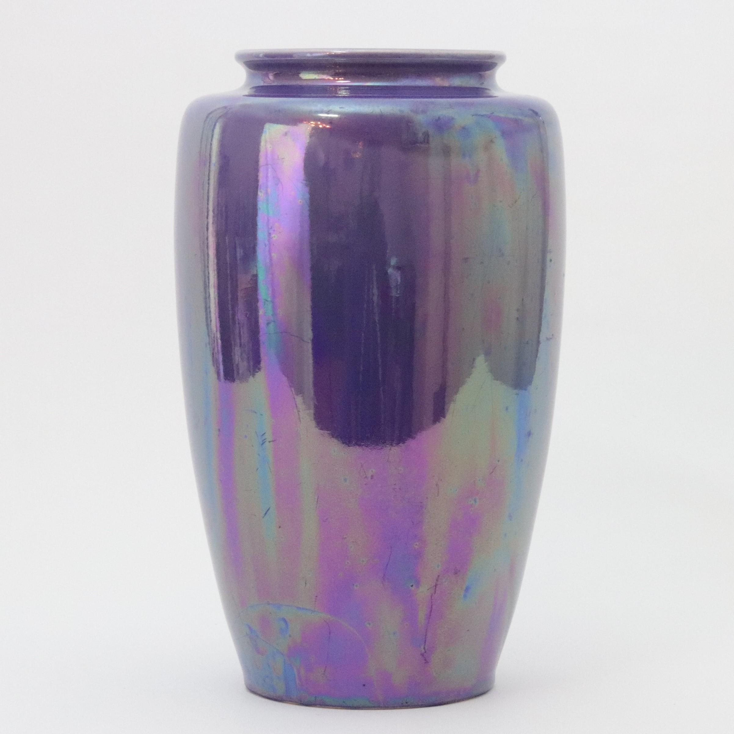 Ruskin Lustre Vase