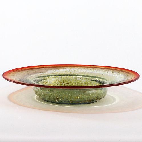 Large WMF Art Deco Ikora Glass Bowl c1930