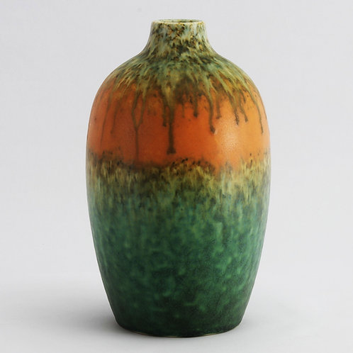 Ruskin Pottery Crystalline Glaze Vase by William Howson Taylor 1933