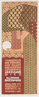 Vienna Secession exhibition poster