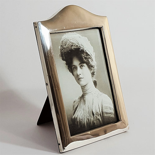 Solid Silver Edwardian Photo Frame
