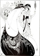 The Peacock Skirt by Aubrey Beardsley.jp