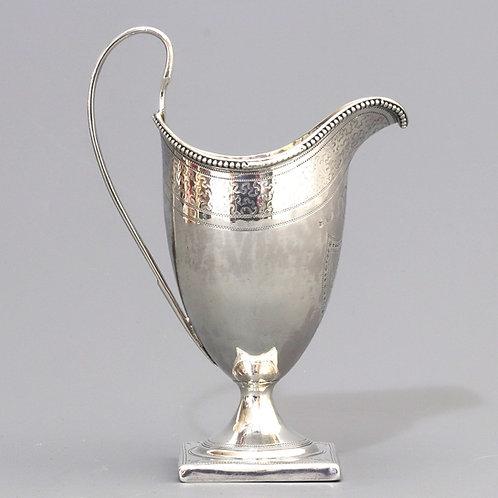 George III Silver Jug by Peter & Ann Bateman London 1795