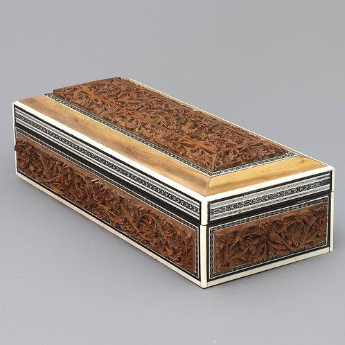 Antique Anglo-Indian Vizagapatam Box