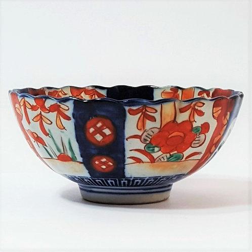 Japanese Imari Footed Bowl c late 19th century