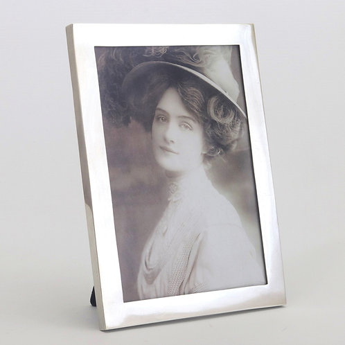 Antique Solid Silver Photo Frame by Frederick Brasted 1918